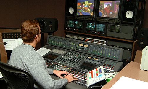 broadcast audio engineer