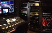 audio recording for live broadcast events